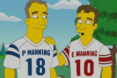 manning simpsons